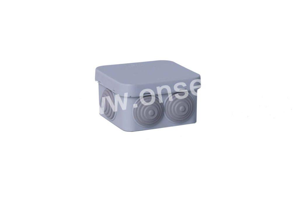 Разветвительная коробка 75х75х45 IP55 для видеонаблюдения