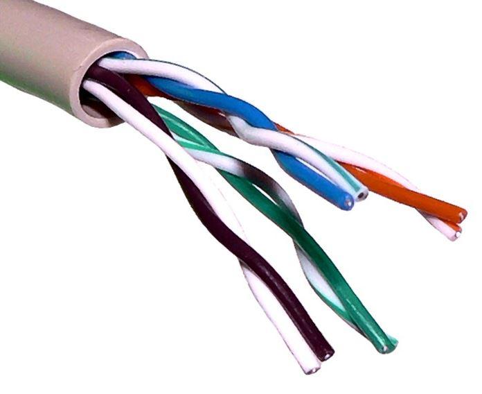 Сетевой кабель LAN104 UTP CAT.5E