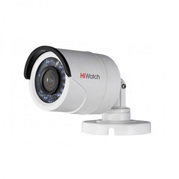 Цилиндрическая камера видеонаблюдения для частного дома