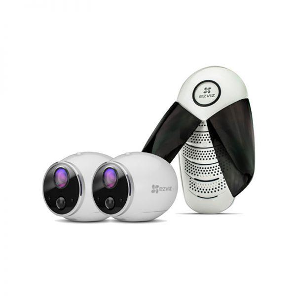 Автономная камера видеонаблюдения EZVIZ Mini Trooper X2 IP/Wi-Fi