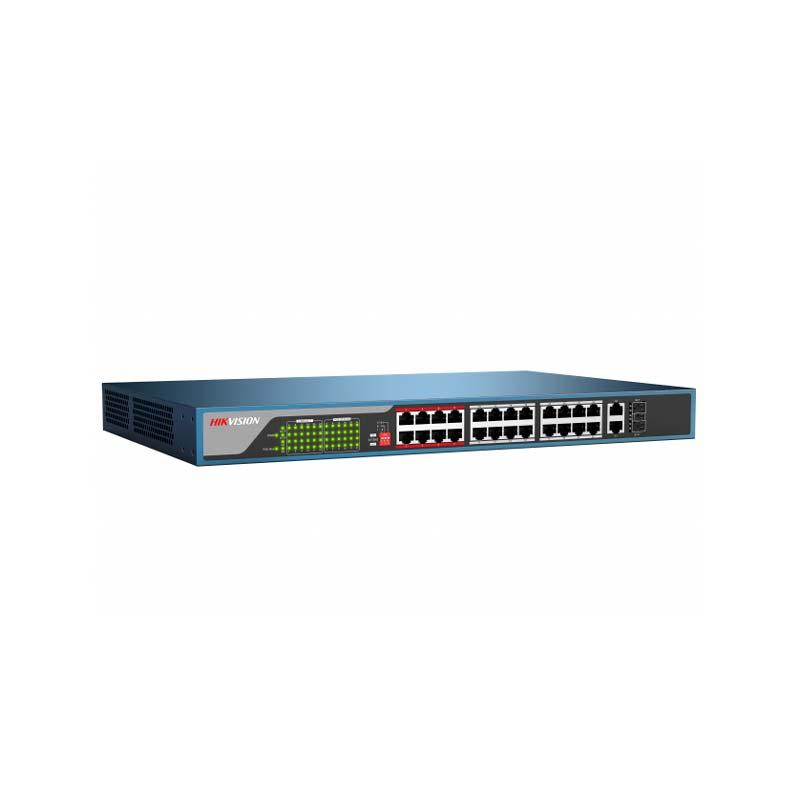 PoE коммутатор Hikvision DS-3E0326P-E