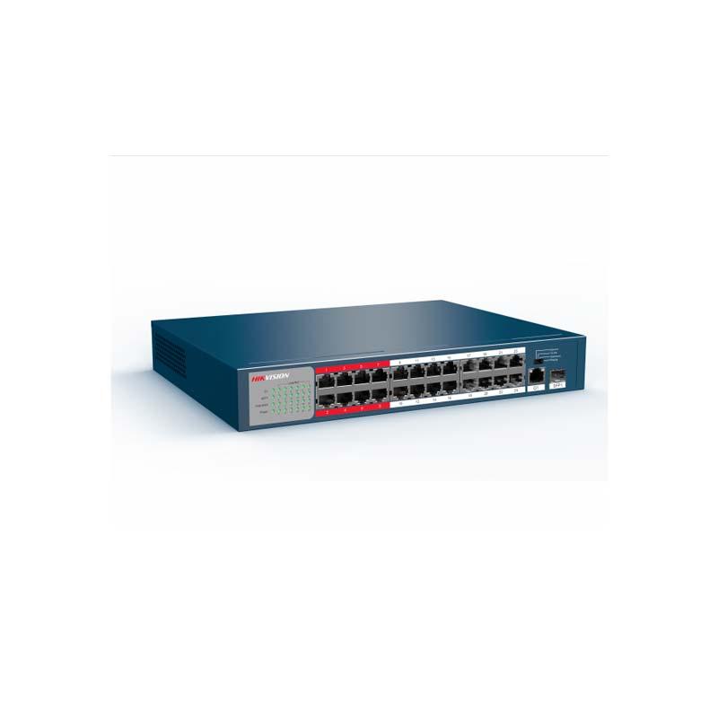 PoE коммутатор Hikvision DS-3E0326P-E/M