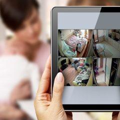 Камера видеонаблюдения для дома (за няней) с удаленным доступом