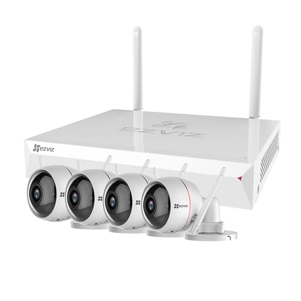 Комплект беспроводного видеонаблюдения Ezviz ezWireLessKit 4CH