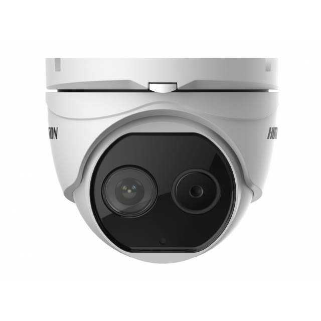 Тепловизионная купольная IP-камера Hikvision DS-2TD1217B-3/PA