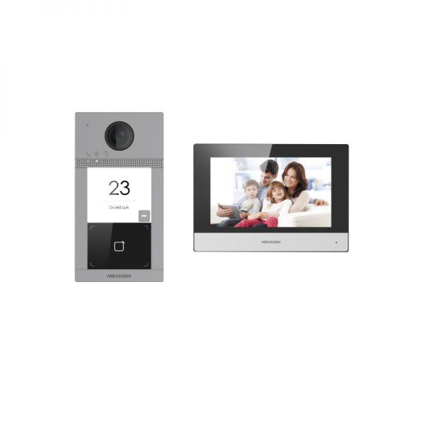 IP Домофон, комплект Hikvision DS-KIS604-P