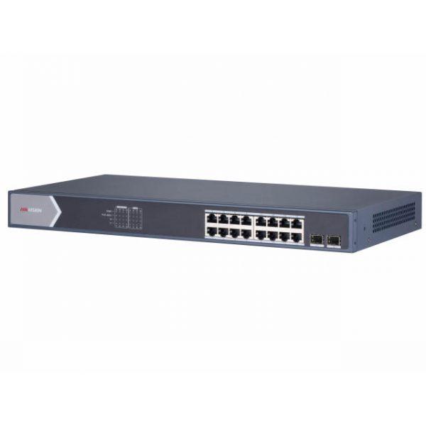 PoE Коммутатор Hikvision DS-3E1518P-E